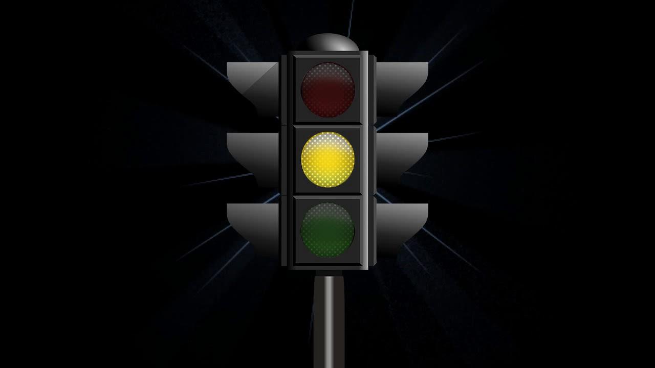 вечный желтый мигающий сигнал светофора гиф миниатюрная лиса