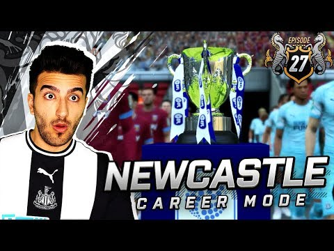 UNBELIEVABLE DRAMA IN THE CUP FINAL - FIFA 19 NEWCASTLE CAREER MODE 27