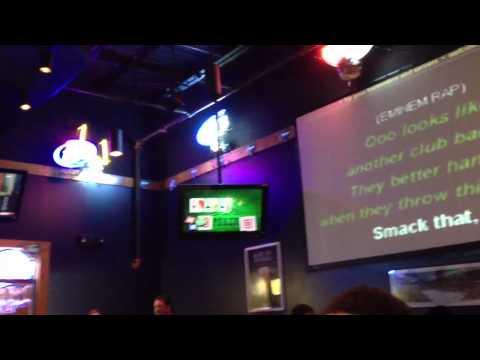 Smack That karaoke at Buffalo Wild Wings