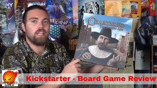 Chartered : The Golden Age - Kickstarter Board Game Review