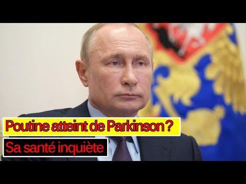 Vladimir Poutine atteint de Parkinson? Sa santé inquiète