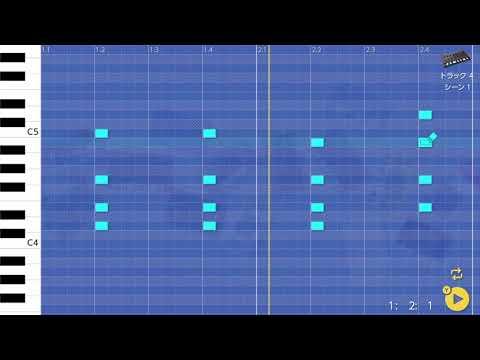 画像2: 04 12 コードを入れてみる バレッドプレス KORG Gadget for Nintendo Switch講座 www.youtube.com