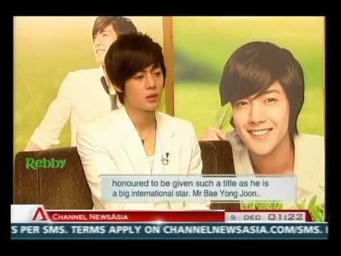 2010.12.04 Kim Hyun Joong - Interview on CNA