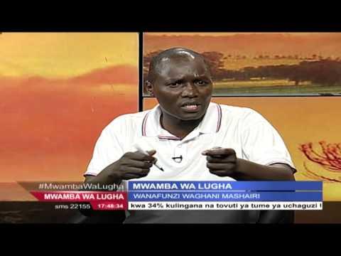MWAMBA WA LUGHA 20th February 2016,Part 3  na Geoffrey Mung'ou