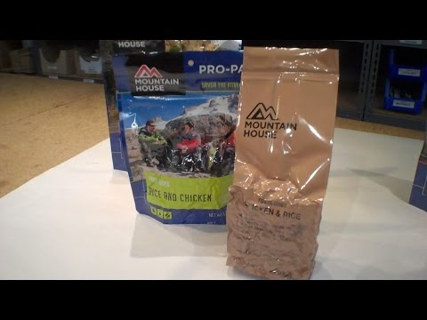 Review: ULTRA RARE Long Range Patrol Rations - Taste tests - 3 kinds!