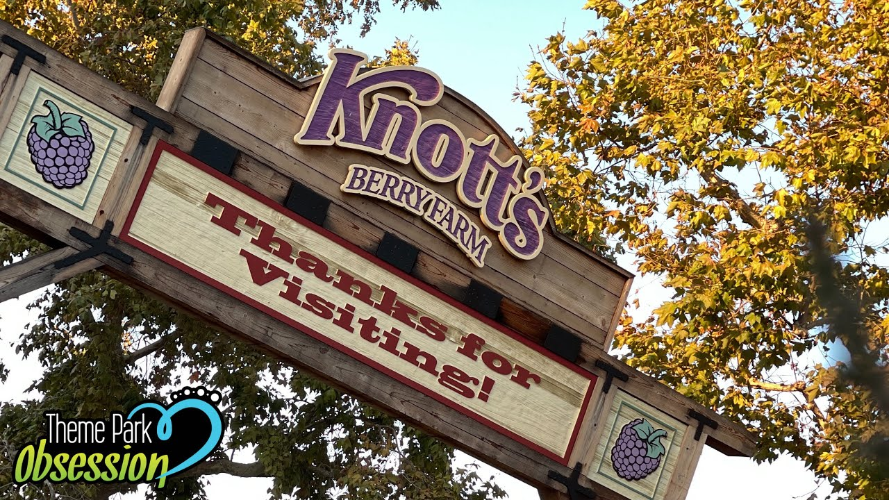 Fun Afternoon at Knott's Berry Farm! | Low Crowds & No Lines
