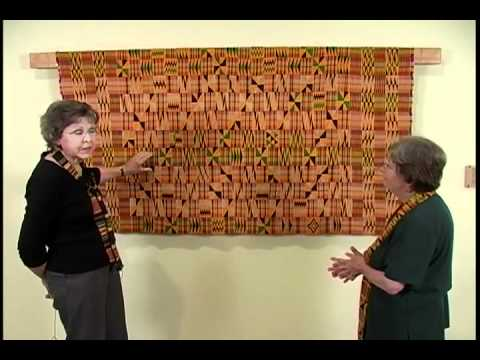 Arts & Ideas #39 Fitchburg Art Museum - African Kente Cloth