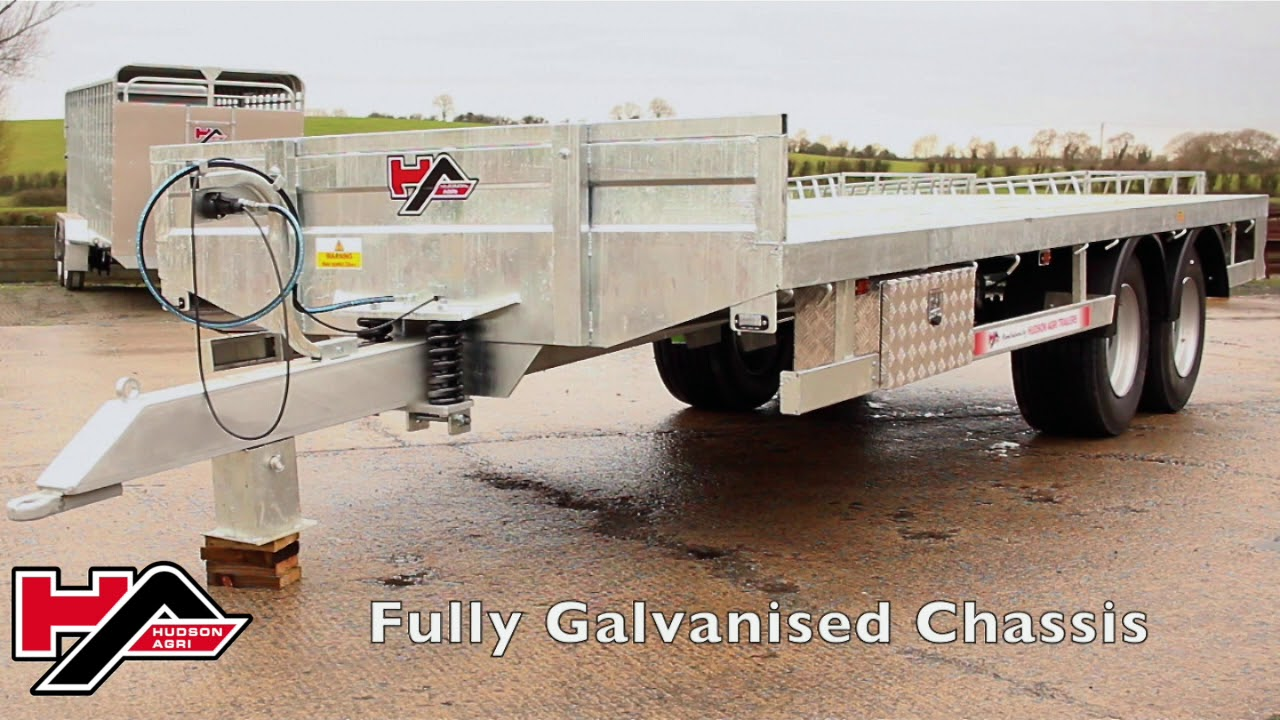 hight resolution of hudson agri bale trailer