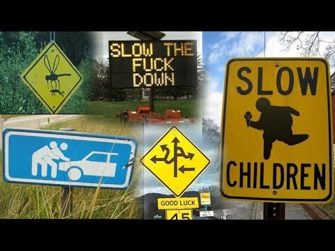 Funny Traffic Sign Fails YouTube - 30 hilarious neon sign fails ever