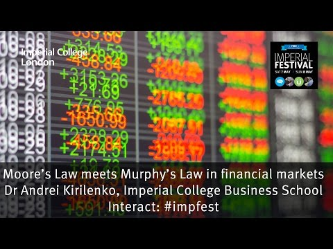 Moore's Law meets Murphy's Law in financial markets