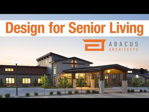 DESIGNING FOR SENIOR LIVING. BUILDING COMMUNITIES.