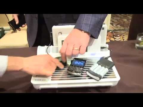 CES 2010 video - Wireless charging with PureEnergy Solutions