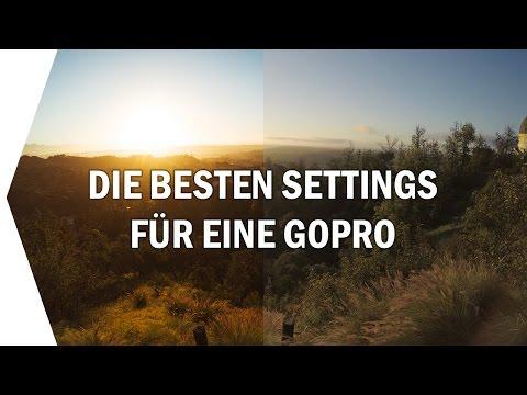 Die BESTEN GoPro Einstellungen I TUTORIAL