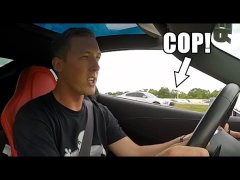BLEW BY A COP AT 120+mph! OOPS!