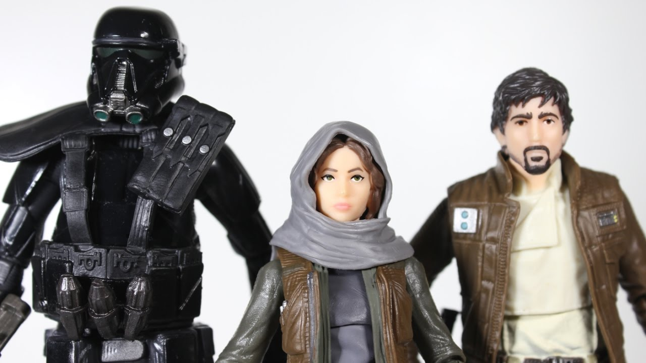 Star Wars Rogue One 6 inch Black Series 3 pack NEW Andor Erso Death Trooper