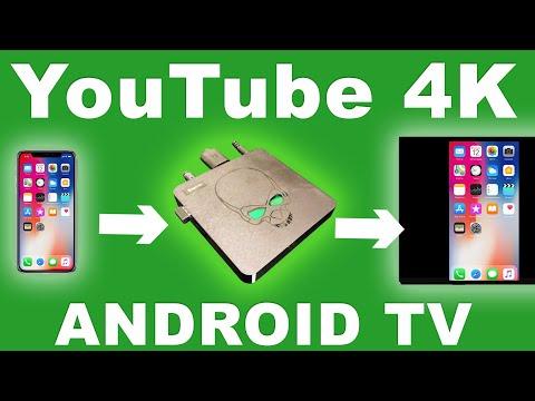 4 K YouTube для Android TV и подключение телефона к ТВ