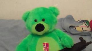 mr. teddy gets pissed