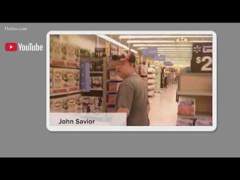 Download Video of confrontation with accused sexual predator in Walmart goes viral, lands  Lamar County man i