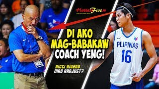 IBANG STYLE OF PLAYING ANG GAGAWIN NI RICCI RIVERO PARA SA TEAM PILIPINAS? | FIBA 5TH WINDOW