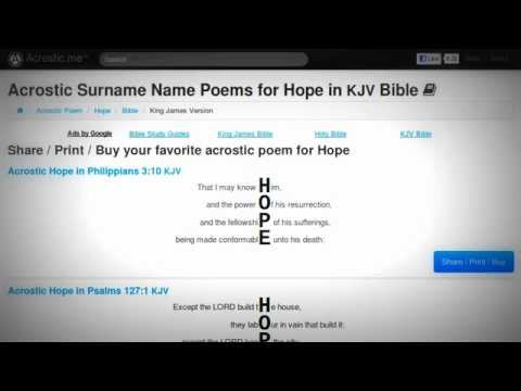 Acrostic Poems About Hope Youtube Poems about trust and love. acrostic poems about hope