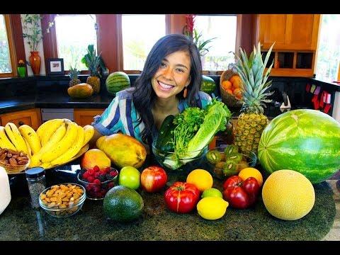 como combinar frutas y verduras youtube