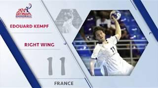 Edouard Kempf (FRA) - All-star right wing | IHFtv - Georgia 2017 Men