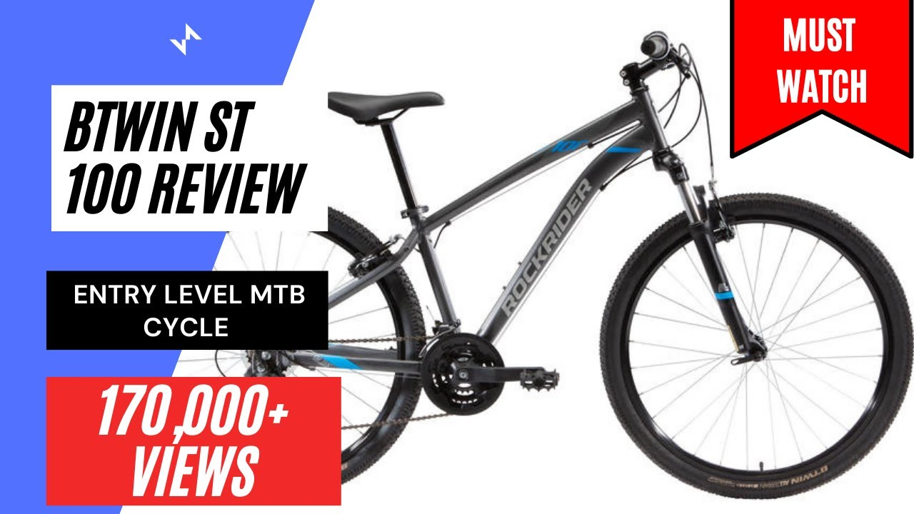 24f135b9f Btwin Rockrider ST 100 Review   Price