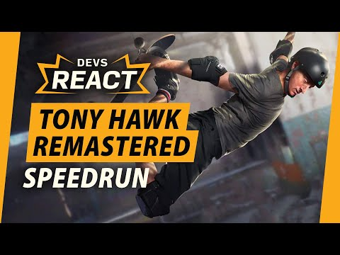 Tony Hawk's 1+2 Remaster Developers React to Speedrun