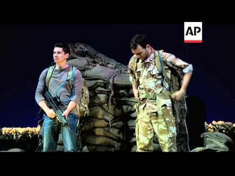 Play on Afghan history proving a hit in New York