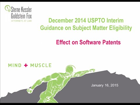 USPTO 101 Guidelines: Effects on Software Patents