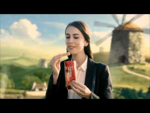 İşte yepyeni lezzet Ülker Saklıköy'ün reklam filmi.