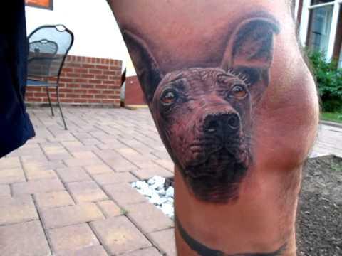 Peruvian Hairless Dog Tattoo By Stefano Alcantara Youtube