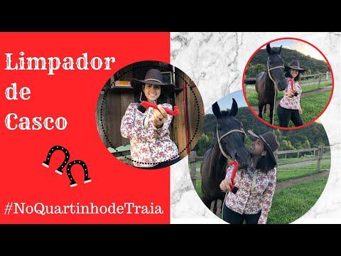 No quartinho de Traia| Limpador de Casco