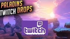 Paladins Twitch Drops