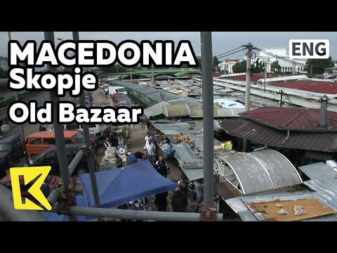 【K】Macedonia Travel-Skopje[마케도니아 여행-스코페]발칸반도 최대 재래시장/Old Bazaar/Market/Traditional/Old Town/Fruit