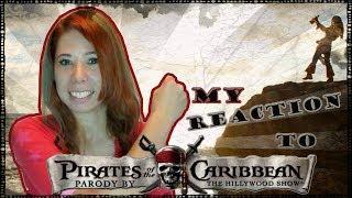Моя реакция на музыкльную пародию Пиратов Карибского моря =)