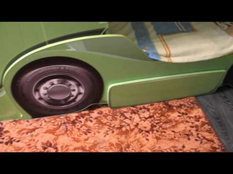 Скания, Двухуровневая кровать из Мебеллев