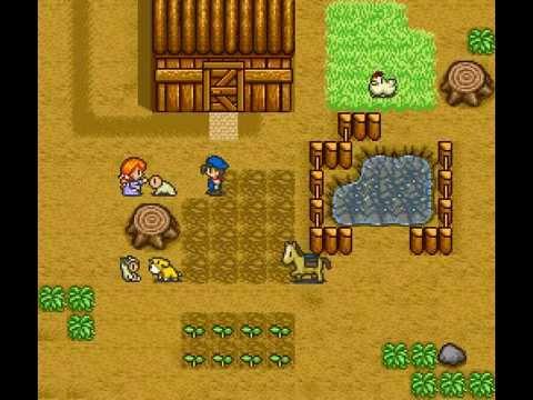 SNES Longplay [247] Harvest Moon (Part 8 of 8)