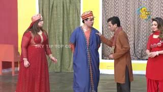 Iftikhar Thakur Nasir Chinyoti and Tariq Teddy Pakistani Stage Drama Comedy Clip 2018