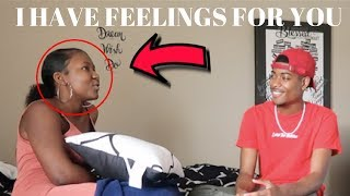 I HAVE FEELINGS FOR YOU PRANK ON TRAY *GETS EMOTIONAL *
