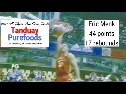 2000 All Filipino PBA Semi Finals Game 1 Tanduay vs. Purefoods