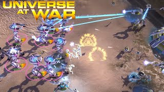 Novus Power and Defcon Mode - Universe at War: Earth Assault Multiplayer Gameplay