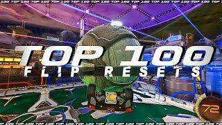 ROCKET LEAGUE TOP 100 FLIP RESETS