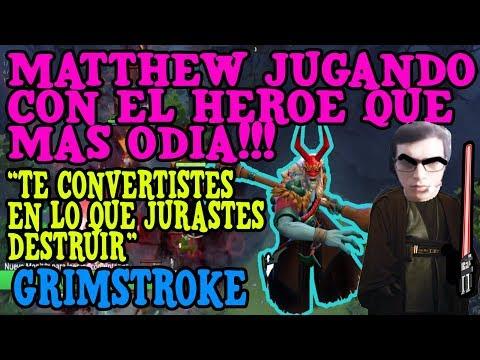 MATTHEW JUGANDO CON EL HEROE QUE MÁS ODIA!!! -  GRIMSTROKE
