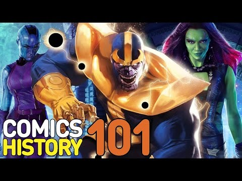 Thanos and the Infinity War Explained - Comics History 101