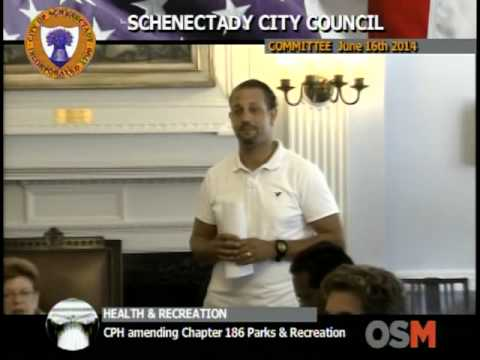 Schenectady City Council Committee June 16th 2014