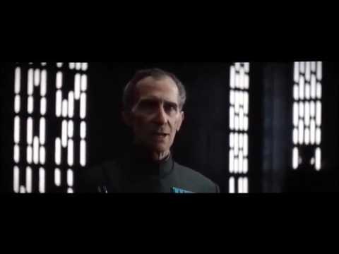 Star wars- Rogue One Grand Moff Tarkin scene