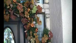 Christmas and Holiday Decorations - Easy steps to making a garland