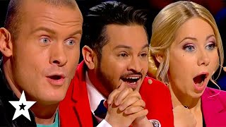 JAW-DROPPING Auditions That Shocked Judges on Ukraine's Got Talent | Got Talent Global