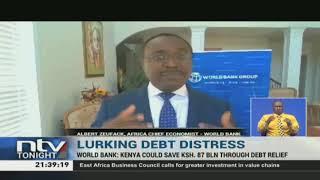 Kenya ranked high at risk of debt distress